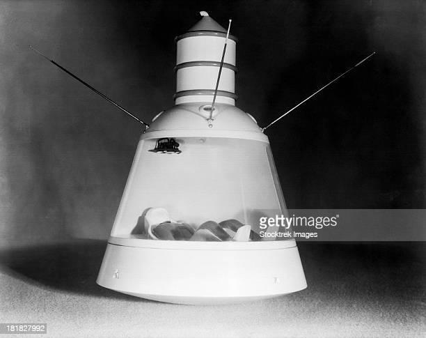 Scale model of Mercury capsule shape B.