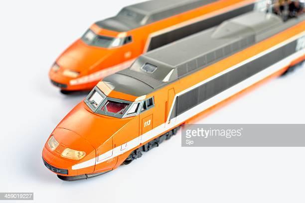 tgvスケールモデル - 模型の汽車 ストックフォトと画像