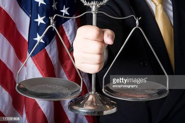 Escala de Justicia que tuvo lugar en la mano
