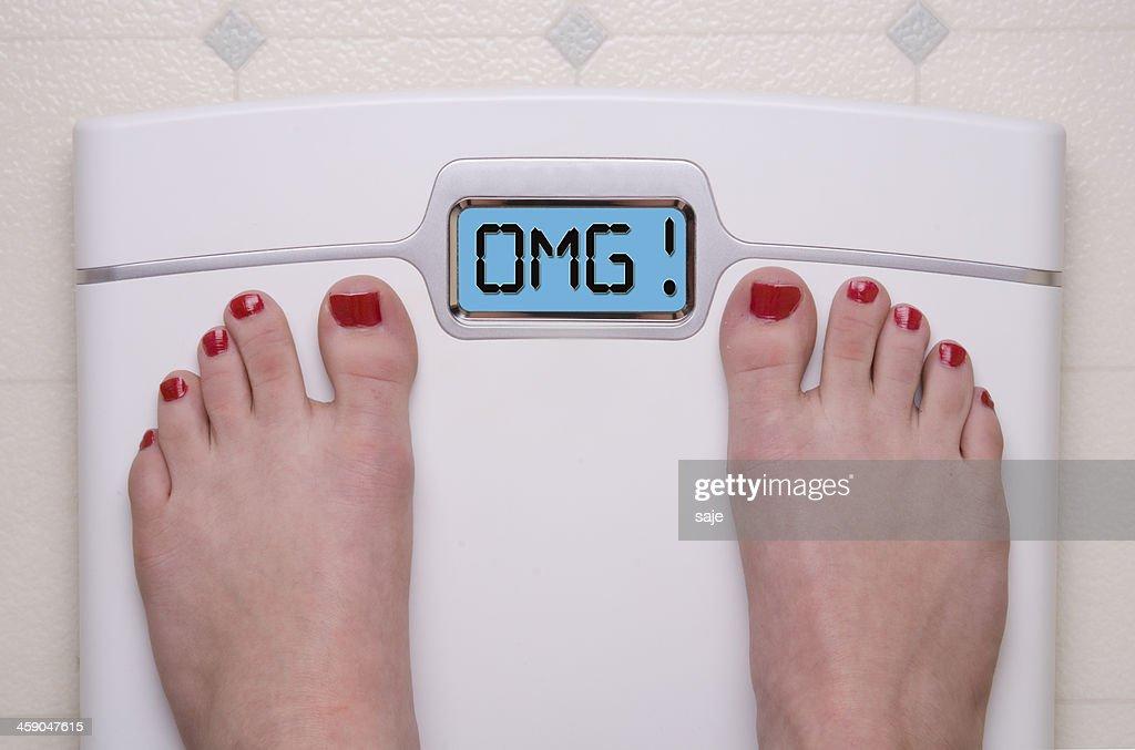 OMG Scale : Stock Photo