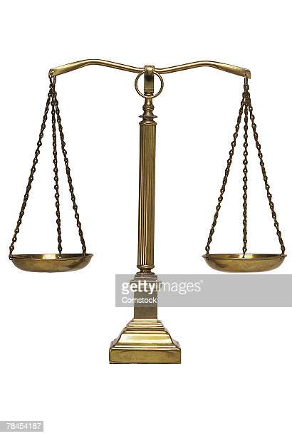 Scales of justice level