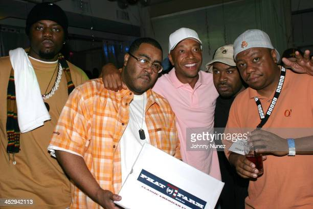 Scales of Nappy Roots, Teddy Ted of Awesome 2, Russell Simmons, DJ BE of Nappy Roots and Special K of Awesome 2