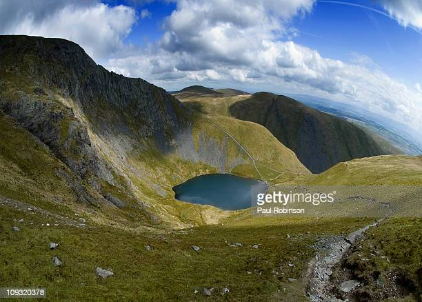 scales tarn - blencathra stock photos and pictures