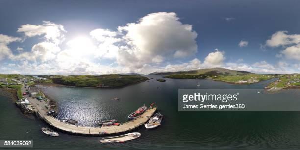 Scalpay Pier and An Acairseid a Tuath