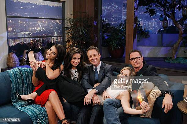 PARADISE 101 Scandal stars and #BachelorNation fans Josh Malina and Katie Lowes joined Ashley I and a surprise cast member as panelists on Walt...
