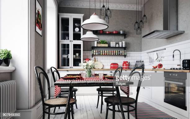 Scandinavian Domestic Kitchen