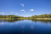 Scandinavian lake view