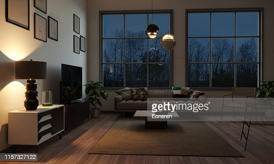 15 059 Living Room Night Photos And Premium High Res Pictures Getty Images
