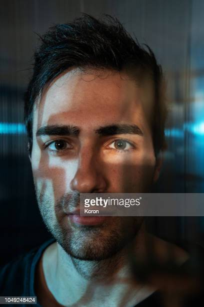 scanned, face recognition... - biometrics stock pictures, royalty-free photos & images