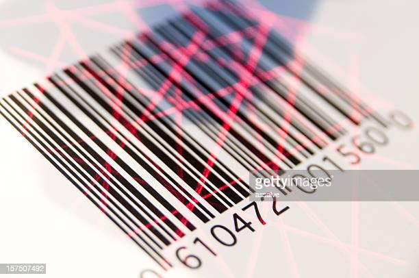 bar code scannen - strichkodeleser stock-fotos und bilder