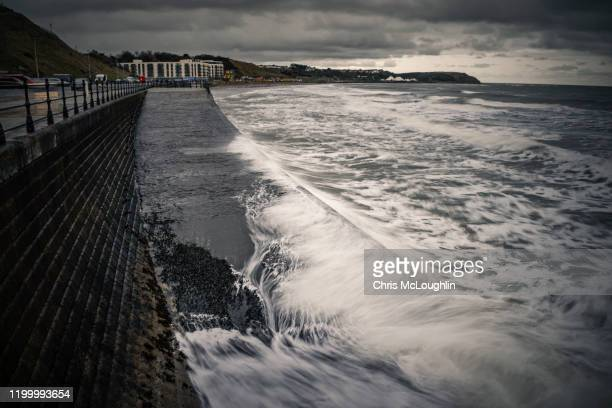 scarborough sea front - scarborough uk stock pictures, royalty-free photos & images