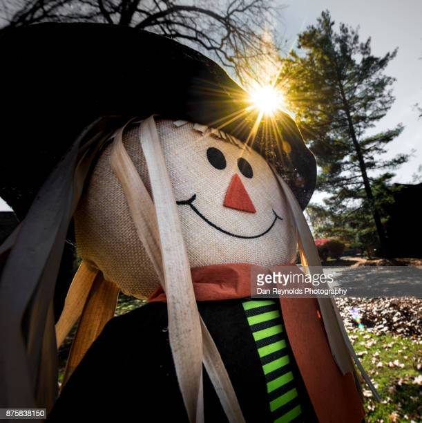 Scarecrow Decoration with Sun-Star
