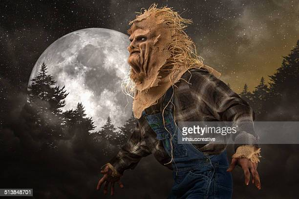 Scarecrow Killer on a full moon night