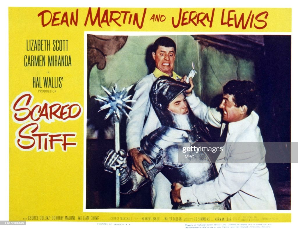 Scared Stiff (1953)  Comedy, Horror, Musical