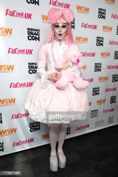 Scaredy Kat attends RuPaul's DragCon 2019 at The Jacob K Javits Convention Center on September 08 2019 in New York City