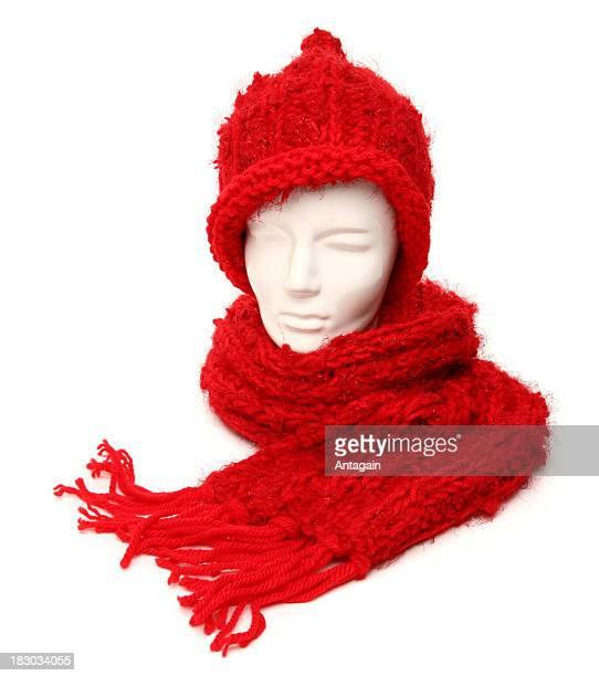 écharpe et bonnet - foulard accessoire vestimentaire pour le cou photos et images de collection