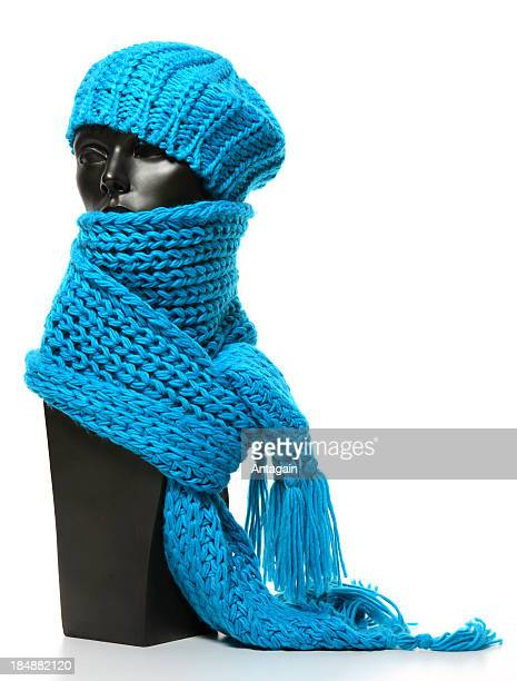 scarf and cap - scarf stock pictures, royalty-free photos & images