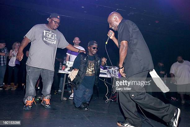 Scarface Bushwick Bill and Willie D of the Geto Boys perform in concert at Emo's on January 26 2013 in Austin Texas