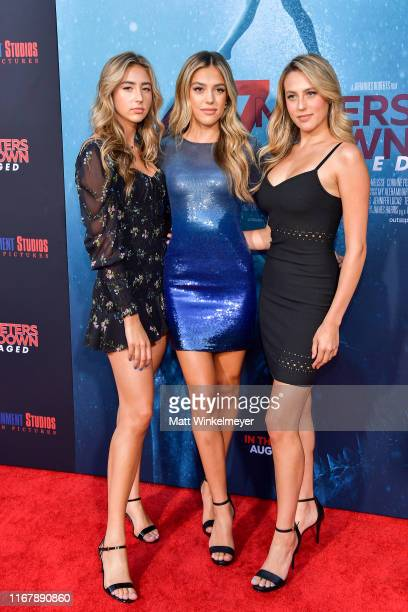 Scarlet Rose Stallone Sistine Rose Stallone and Sophia Rose Stallone attends the LA Premiere of Entertainment Studios' 47 Meters Down Uncaged at...