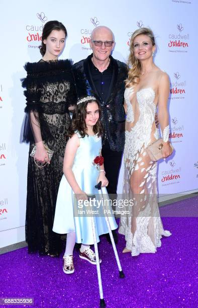 Scarlett and John Caudwell, Modesta Vzesniauskaite, and Susanah attend the Butterfly Ball Charity fundraiser at the Grosvenor House Hotel in London.