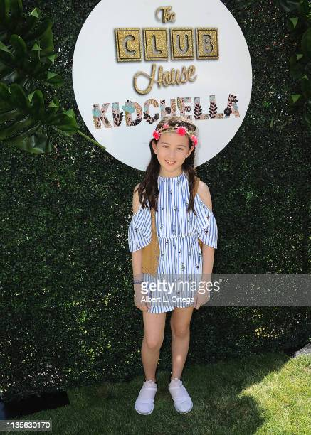 Scarlett Bella arrives for Clubhouse Kidchella held at Pershing Square on April 6 2019 in Los Angeles California