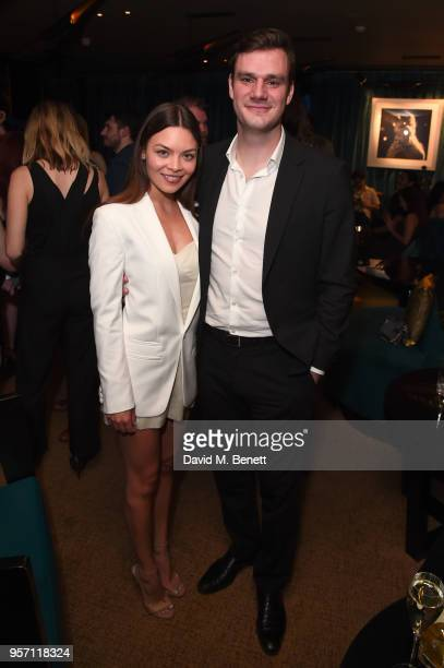 Scarlett Byrne and Cooper Hefner attend as Cooper Hefner hosts VIP party at Playboy Club London to celebrate Playboy's nomination at the British LGBT...