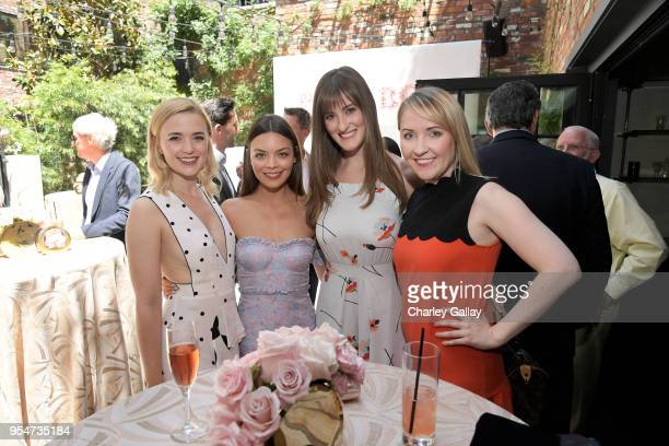 Scarlett Byrne and guests attend Playboy's 2018 Playmate of the Year Celebration at Beauty Essex on May 4 2018 in Los Angeles California