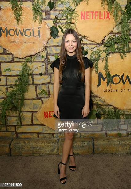 Scarlett Byrne attends the Los Angeles Special Screening of Mowgli Legend of the Jungle at ArcLight Hollywood on November 28 2018 in Hollywood...