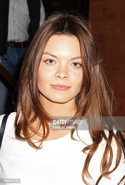 Scarlett Byrne attends the UK Premiere of 'Come As You Are' at The Curzon Mayfair on June 5 2013 in London England