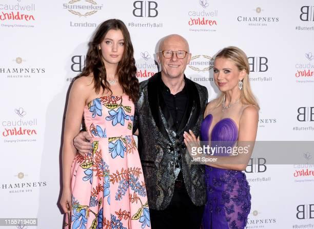 Scarlett CaudwellBurgess John Cauldwell and Modesta Vzesniauskaite attend the Caudwell Children Butterfly Ball 2019 at The Grosvenor House Hotel on...