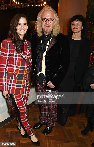 Scarlett Connolly Billy Connolly and Cara Connolly attend the 21st National Television Awards at The O2 Arena on January 20 2016 in London England