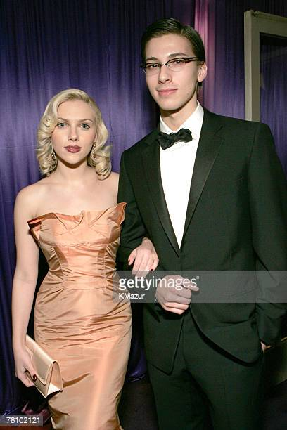 Scarlett Johansson and brother