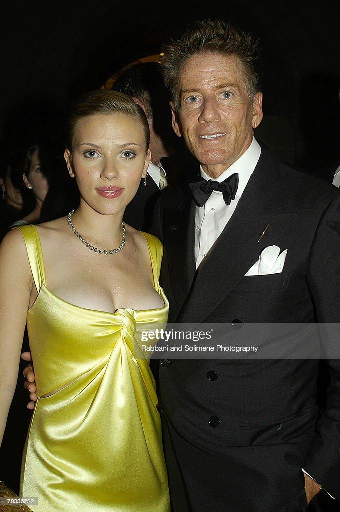 Scarlett Johansson and Calvin Klein