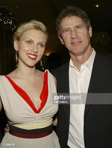 Scarlett Johansson and Jon Feltheimer, CEO of Lions Gate