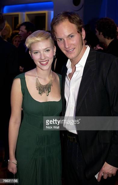 Scarlett Johansson and Patrick Wilson