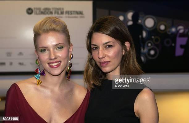 Scarlett Johansson and Sofia Coppola