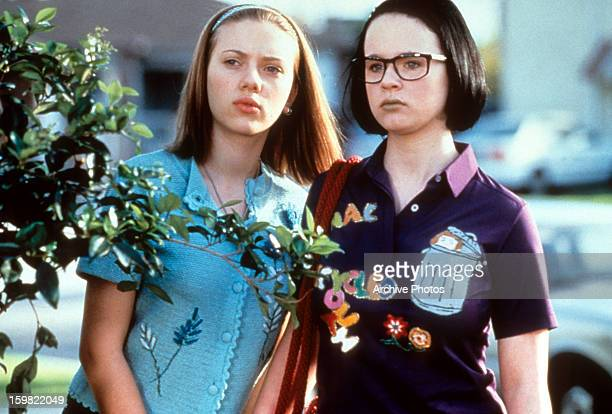 Scarlett Johansson and Thora Birch in a scene from the film 'Ghost World' 2001