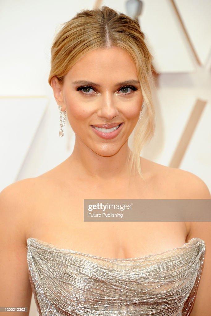 Scarlett Johansson  - 92nd Annual Academy Awards - Arrivals : News Photo
