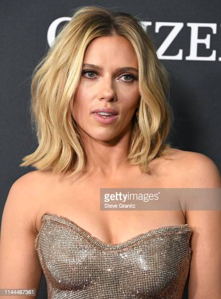 Scarlett Johansson arrives at the world premiere Of Walt Disney Studios Motion Pictures Avengers Endgame at Los Angeles Convention Center on April 22...