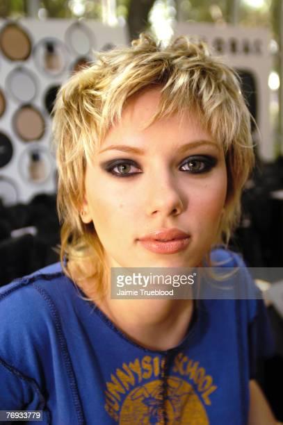 Scarlett Johansson at LORAC