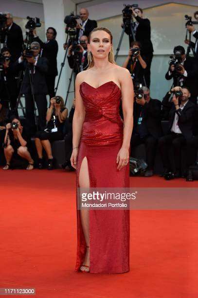 Scarlett Johansson at the 76 Venice International Film Festival 2019 Marriage Story red carpet Venice August 29th 2019