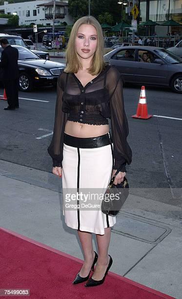 Scarlett Johansson at the DGA in Los Angeles California