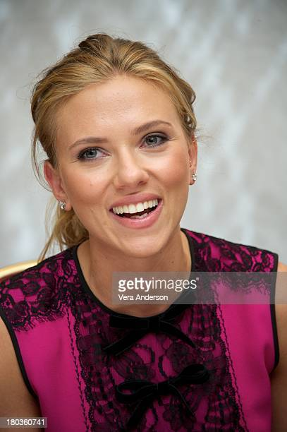 Scarlett Johansson at the Don Jon Press Conference at the Fairmont Royal York Hotel on September 10 2013 in Toronto Ontario