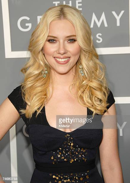 Scarlett Johansson at the Staples Center in Los Angeles California