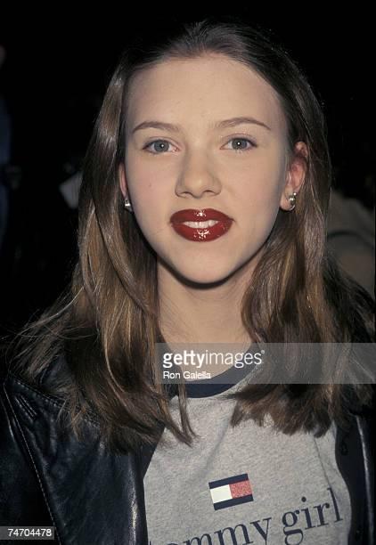 Scarlett Johansson at the Ziegfeld Theatre in New York City New York