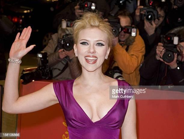 Scarlett Johansson Attending The Film Premiere For The Filmthe Other Boleyn Girl At The Berlin Film Festival