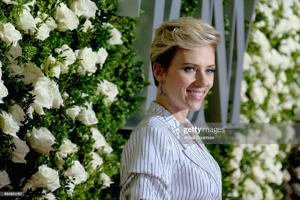 Scarlett Johansson attends the 2017 Tony Awards at Radio City Music Hall on June 11, 2017 in New York City.