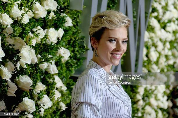 Scarlett Johansson attends the 2017 Tony Awards at Radio City Music Hall on June 11 2017 in New York City