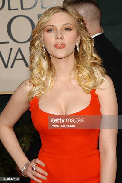Scarlett Johansson attends The 63rd Annual GOLDEN GLOBE AWARDS Red Carpet Arrivals at The Beverly Hilton on January 16 2006 in Beverly Hills CA