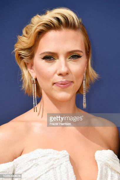 Scarlett Johansson attends the 70th Emmy Awards at Microsoft Theater on September 17 2018 in Los Angeles California